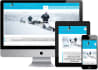 make cms,php based responsive website with contact page free