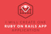 create a ruby on rails website