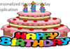 make you a personalized Birthday application