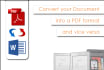 professionally convert and edit your document into a PDF