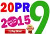 manually create 20 PR9 SEO high pr backlinks from Authority Sites