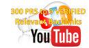crear 300 backlinks Verificados PR5 a PR9 para cualquier URL