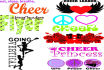 give You 49 Cheerleader Vector Clipart