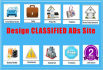create CLASSIFIED ads website quickly