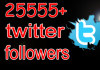 get you add 25,555+ TWITTER followers Real looking to your your link no password needed quickly less than 8 hrs