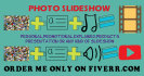 make a hd SLIDESHOW with image,audio,video and text