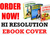 create a very professional ebookcover design in 30min
