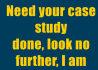 write your ORIGINAL case study