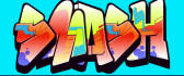 give your name in GRAFFITI