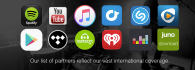 publish your music on Spotify iTunes and 350 digital stores