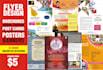 design AMAZING flyer, poster, brochure, card