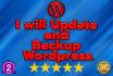 update your wordpress blog