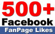 add 500 Facebook Page Likes
