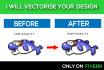 convert Your DESIGN Into Vector File