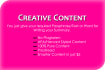 write your required Content