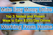 teach you 3 Real Ways to Actually Make Money Online