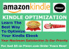 show you Professional way to optimize your KINDLE ebook