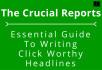 show you crucial Headline Copy Writing HACKS