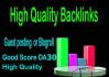 give backlink permanent DA35x9