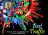 send Keyword Targeted True Google Search Traffic