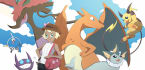 draw you as a Pokemon Trainer or Team Christmas Special