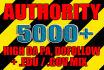 make 5000 VERIFIED high pr da pa, dofollow, edu links blast, very effective seo