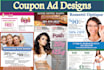 design a Coupon Ad For Print or Online Viewing