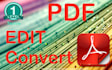 pdf edit, convert, create or make fillable pdf form