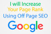 increase your rankings using white hat  SEO in 24 hours