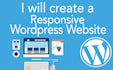 create a responsive and professional wordpress website