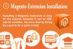 do Magento Extension Installation