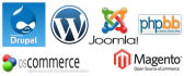 do ecommerce,joomla,magento very well