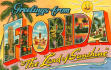 mail a post card from FLORIDA to anywhere