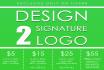 make 2 AWESOME Signature Logo