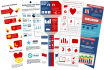 create and design an awesome, attractive and unique infographic
