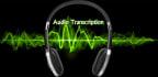 provide transcription of English Audio or Video
