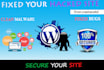 clean malware or Virus FAST from Any Wordpress WebSite