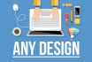 do any fast Task or Design for You