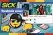 design a SICK facebook cover