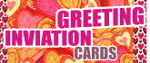create custom design for greetings and invitation cards