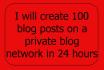 10 unique article or blog post