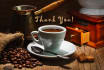 be very thankful for a cup of delicious Coffee