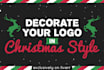 decorate your Logo in Christmas Style