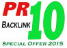 do 20 High PR backlinks