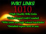 submit your site on 1010 Wiki links to get 3030+ contextual Backlinks