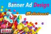 design Professional web banner