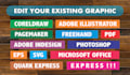edit your existing graphic in any format