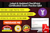 provide any CheckPoint exam practice QA