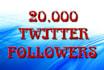 add 20000 new real followers