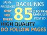 do blog comments 85 backlinks